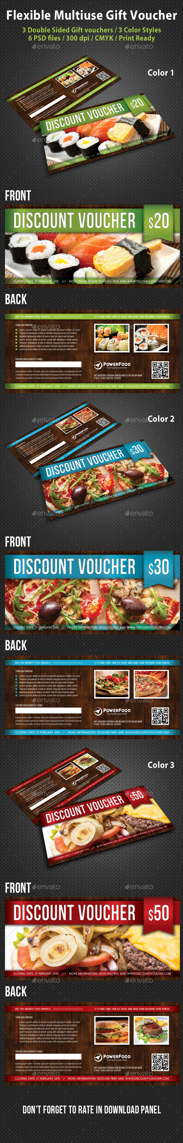 GraphicRiver Flexible Multiuse Gift Voucher V02 10404977