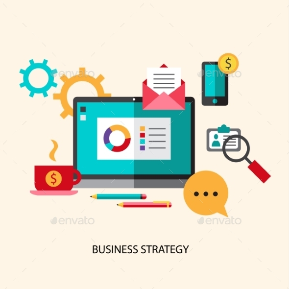 GraphicRiver Business Strategy Concept 10405113