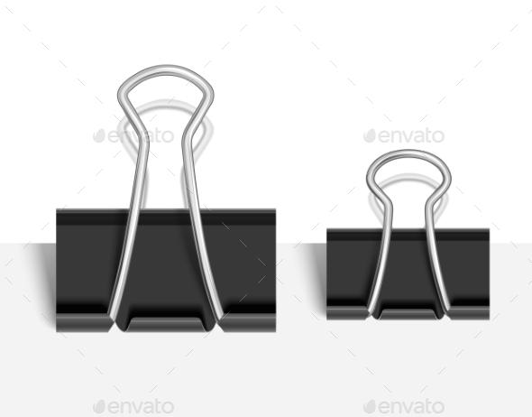 GraphicRiver Black Paper Clip 10405150