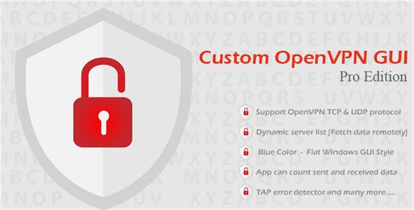 Custom OpenVPN GUI Pro Edition