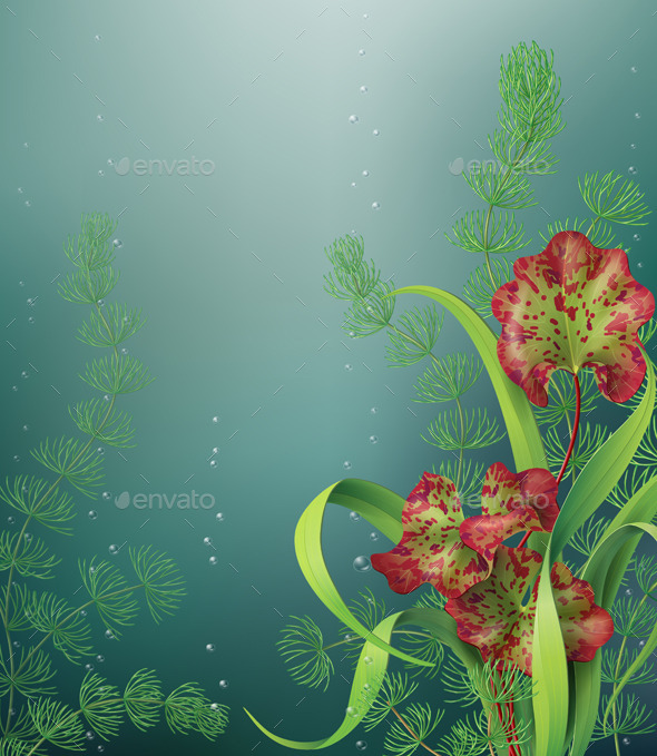 GraphicRiver Underwater Background 10405255