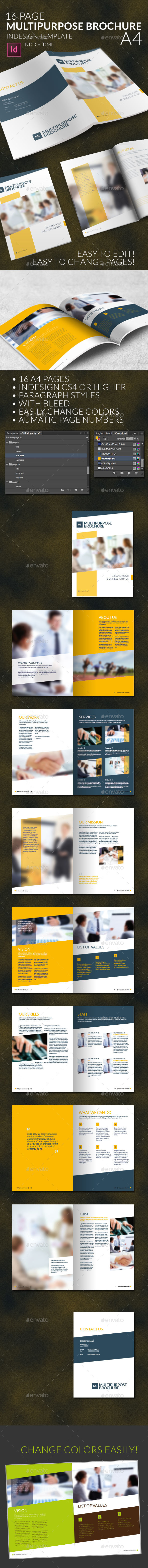 GraphicRiver Multipurpose Business Brochure A4 10405280