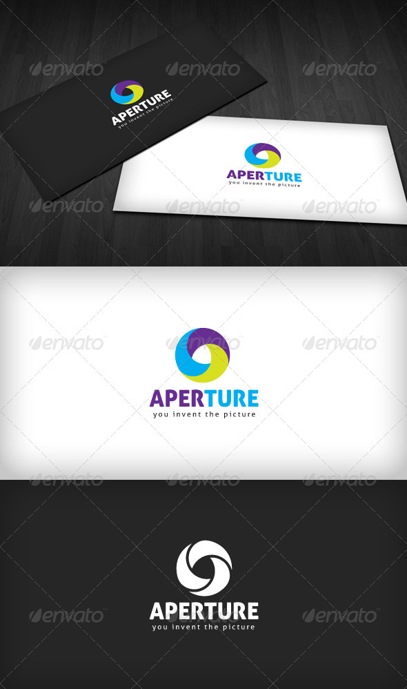Aperture Logo - Vector Abstract