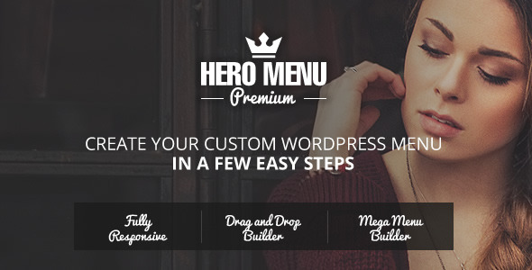 CodeCanyon Hero Menu Responsive WordPress Mega Menu Plugin 10324895