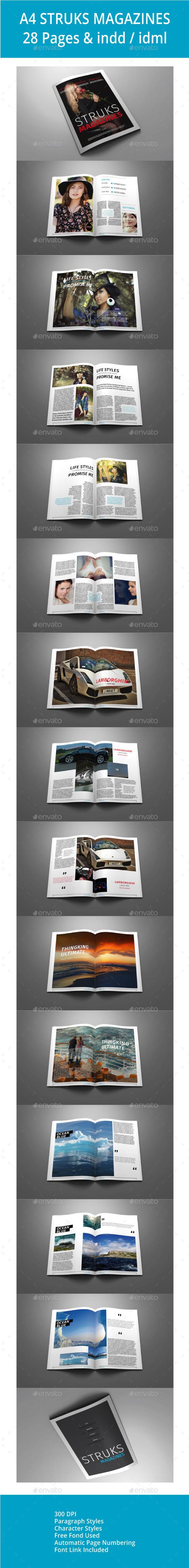 GraphicRiver A4 Struck Magazines 10405503