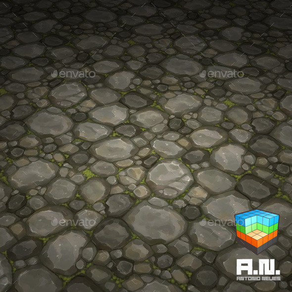 Stone texture floor-04 - 3DOcean Item for Sale