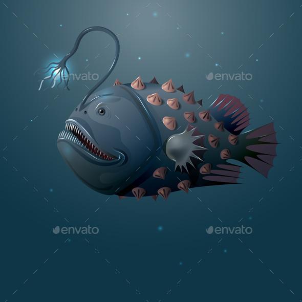 GraphicRiver Angler Fish 10405966
