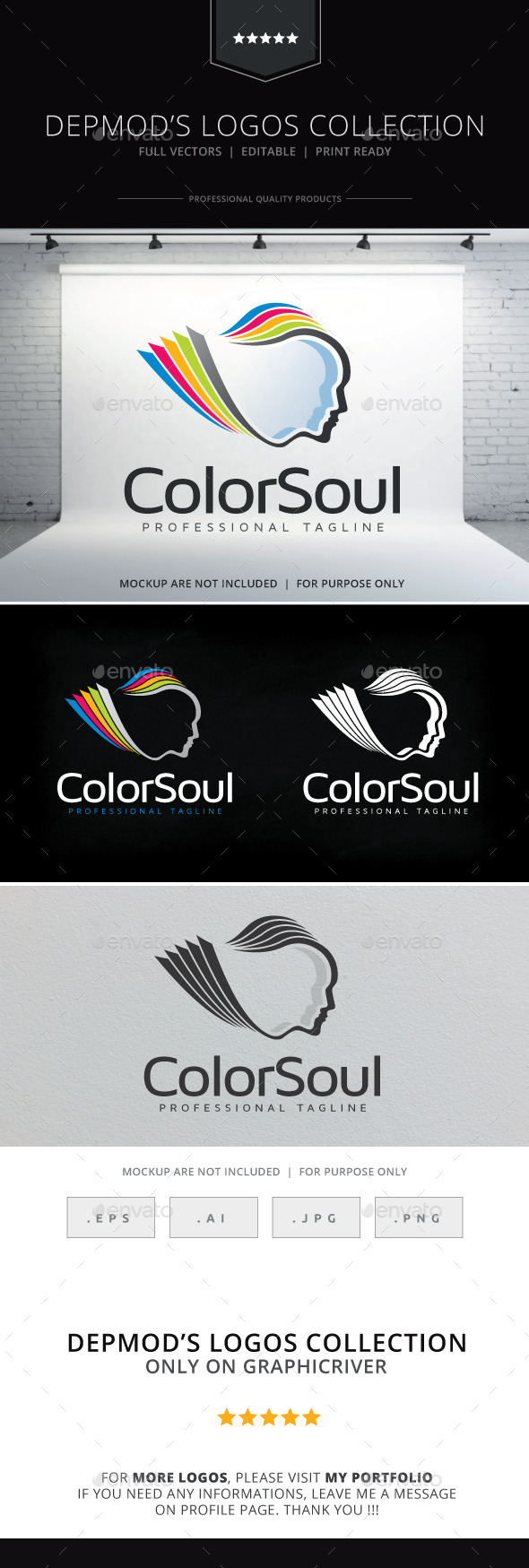 GraphicRiver Color Soul Logo 10406219