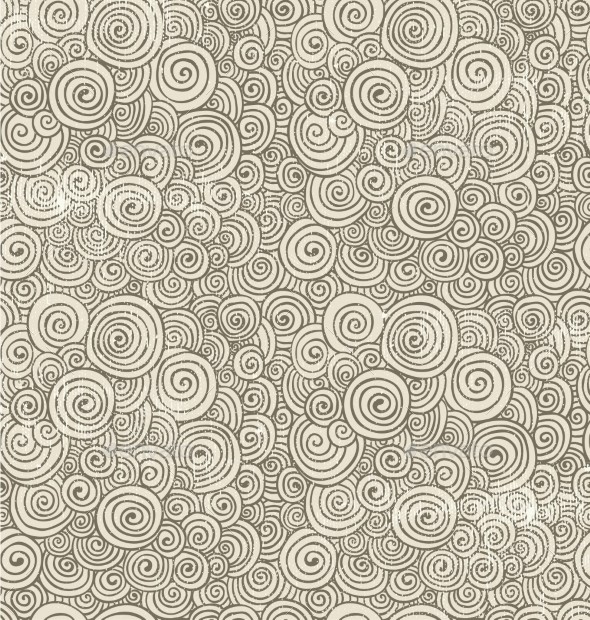 GraphicRiver Hand-Drawn Doodle Seamless Background Pattern 10406425