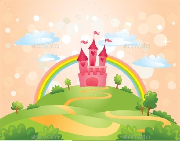 GraphicRiver Fairy Tale Castle 10406429