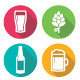 Beer Icons - GraphicRiver Item for Sale