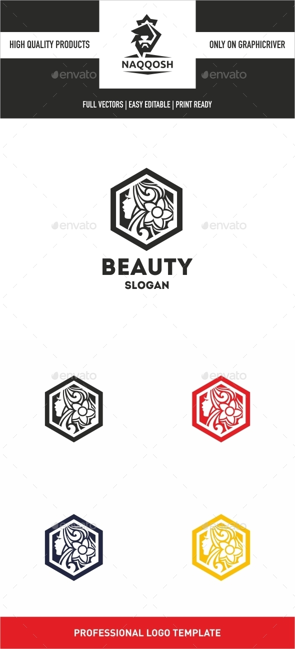 GraphicRiver Beauty Logo 10406703