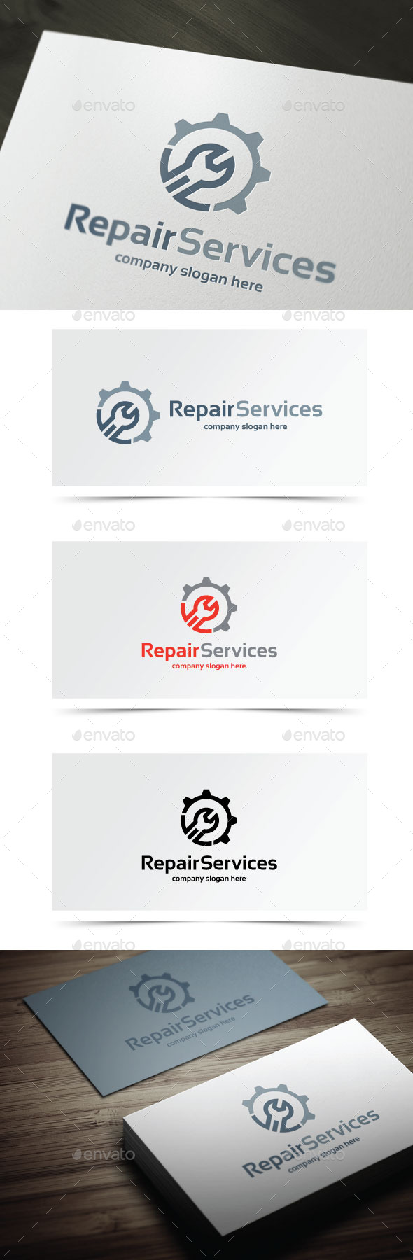 GraphicRiver Repair Services 10406740