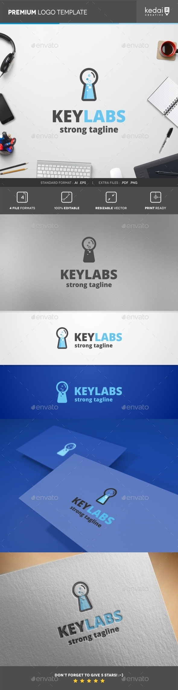 GraphicRiver Key Labs 10407617
