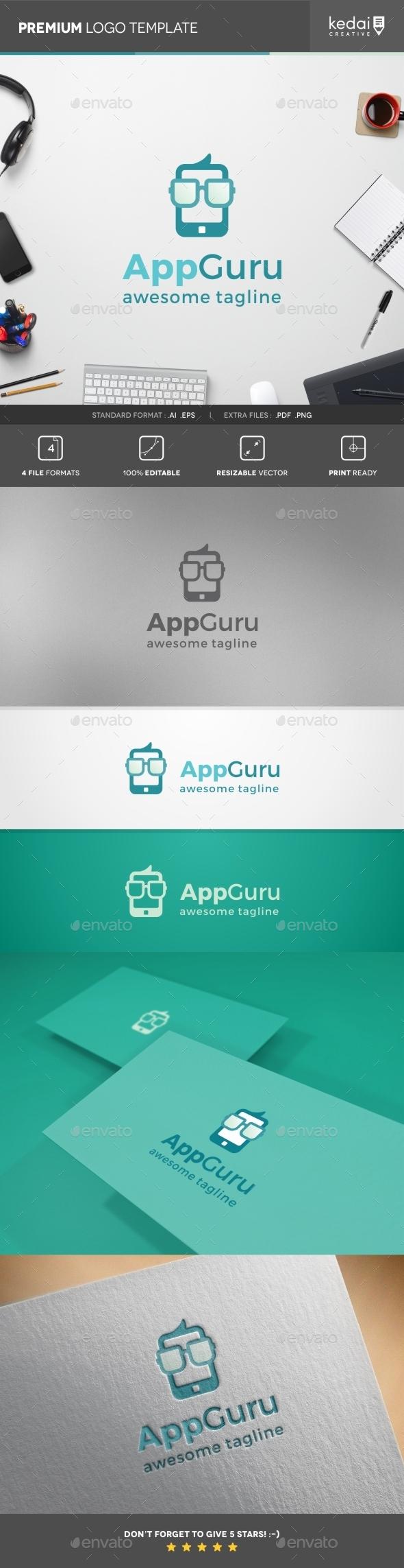GraphicRiver App Guru 10407979