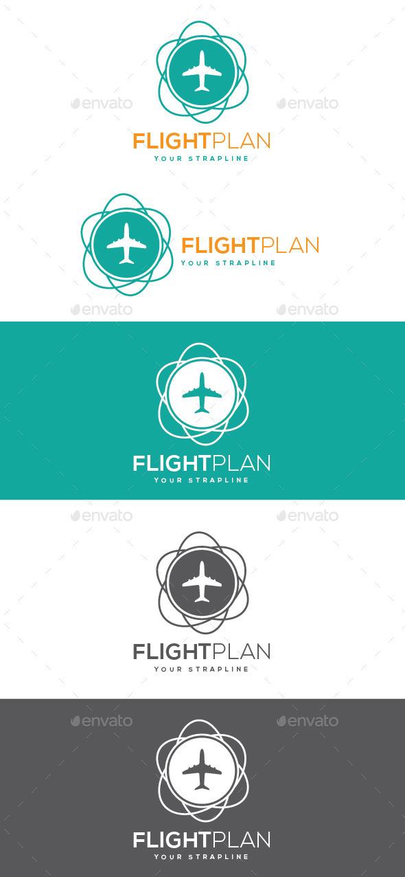 GraphicRiver Flightplan Logo 10408102