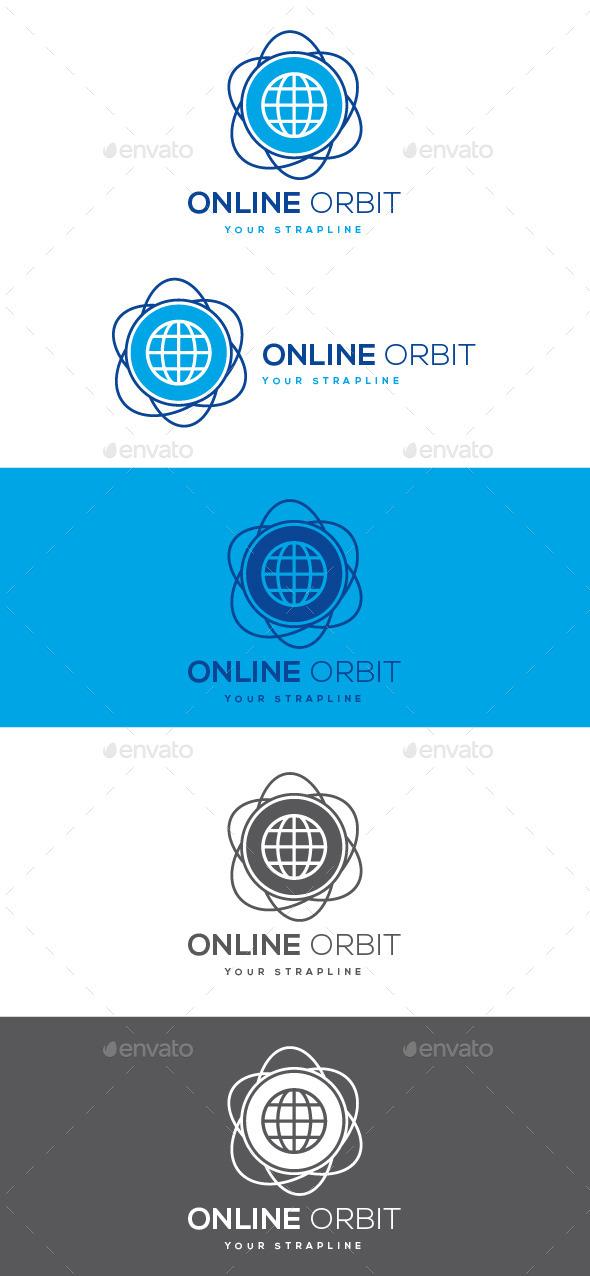 GraphicRiver Online Orbit Logo 10408125