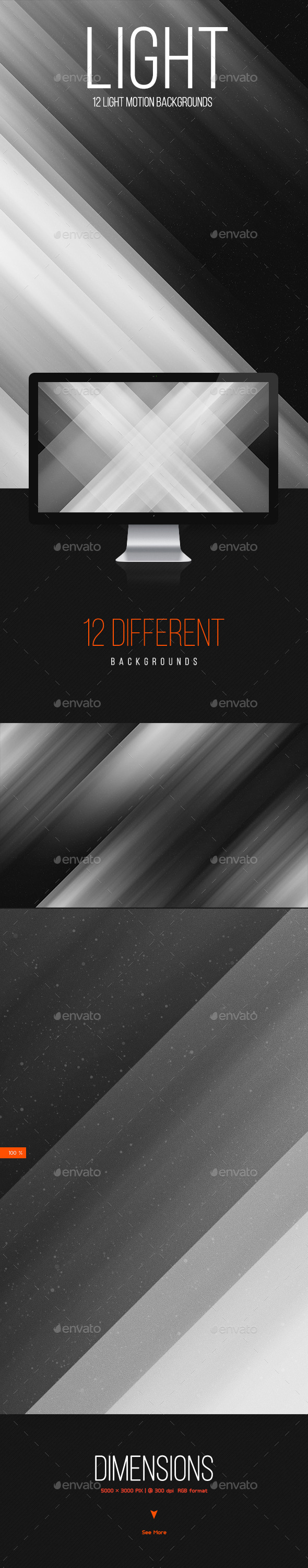 GraphicRiver Light Motion Backgrounds 10357731