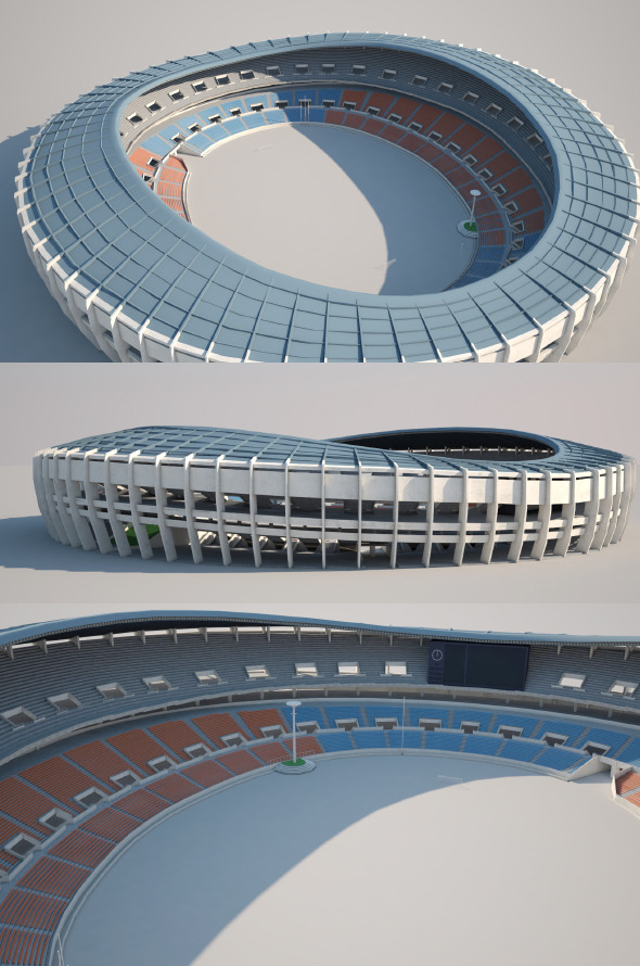 Jamsil Olympic Stadium - 3DOcean Item for Sale