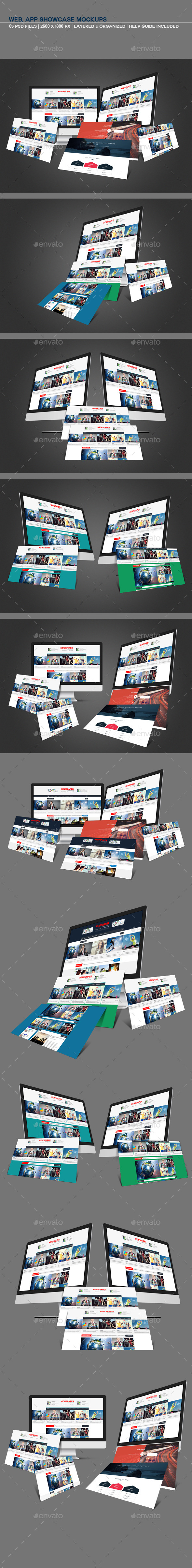 GraphicRiver Web-App Showcase Mockups 10409395