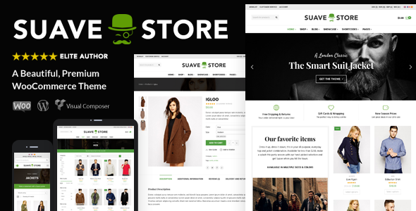 Suave - Multi Purpose WooCommerce Theme