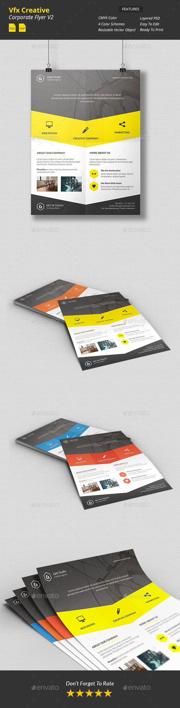 GraphicRiver Vfx Creative Corporate Flyer v2 10409949