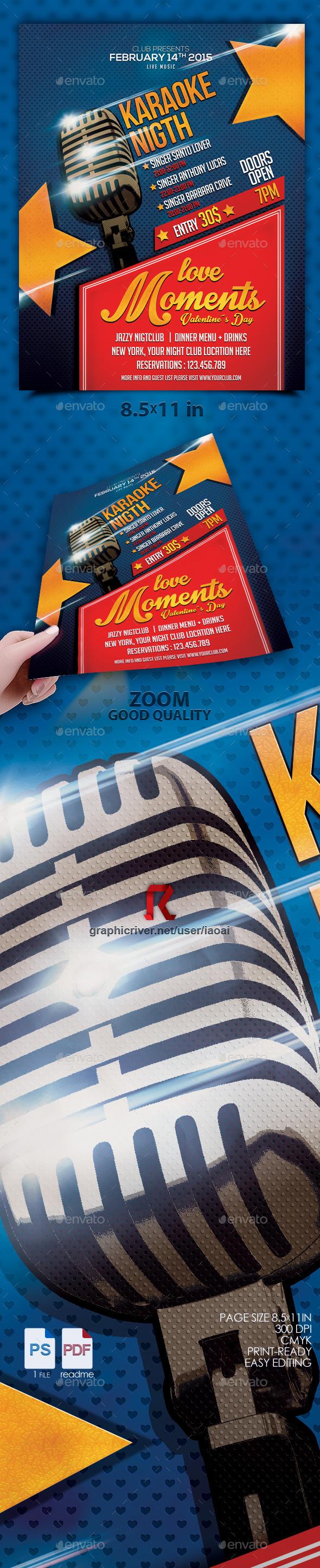 GraphicRiver Karaoke flyer vol 4 10355848
