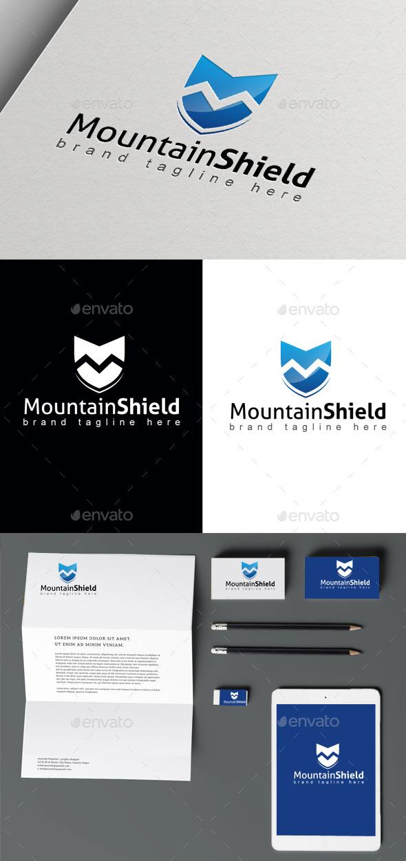 GraphicRiver Mountain Shield 10410021