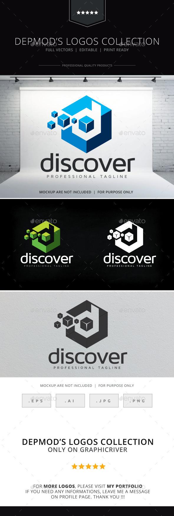 GraphicRiver Discover Logo 10410403