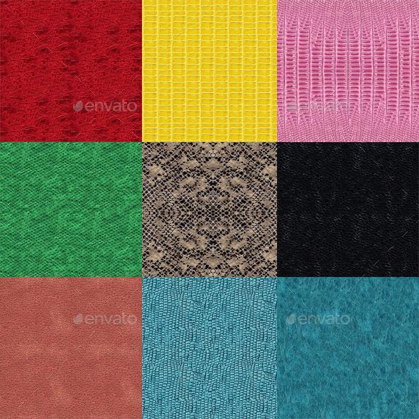 3DOcean Seamless Snake Textures 10410482