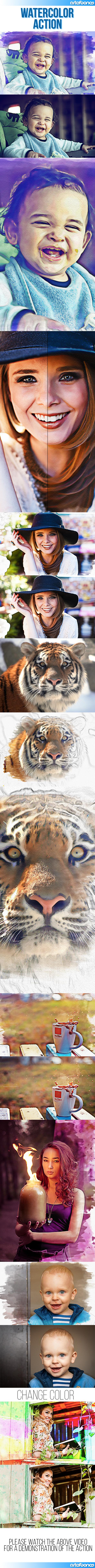 GraphicRiver Watercolor & Pencil Action 10359110