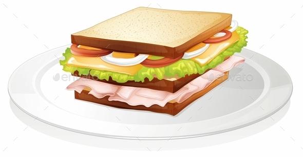 GraphicRiver Sandwich 10411753