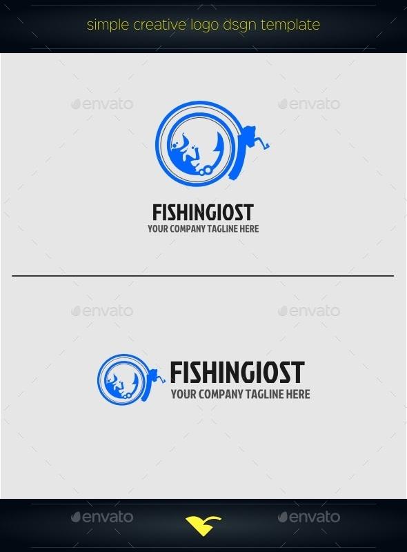 GraphicRiver Fishing logo 10411766