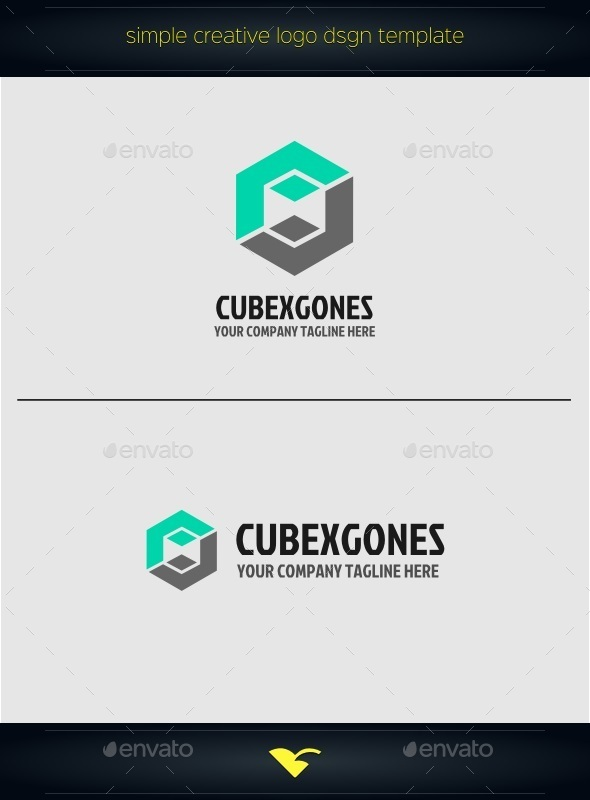 GraphicRiver Cube Logo 10411827