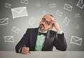 man waiting for life changing email