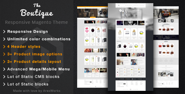 Boutique - Fashion Magento Responsive Theme