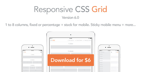 Responsive html5 css grid traclaborat for Html css grid