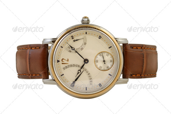 Man's Watch - Stock Photo - Images