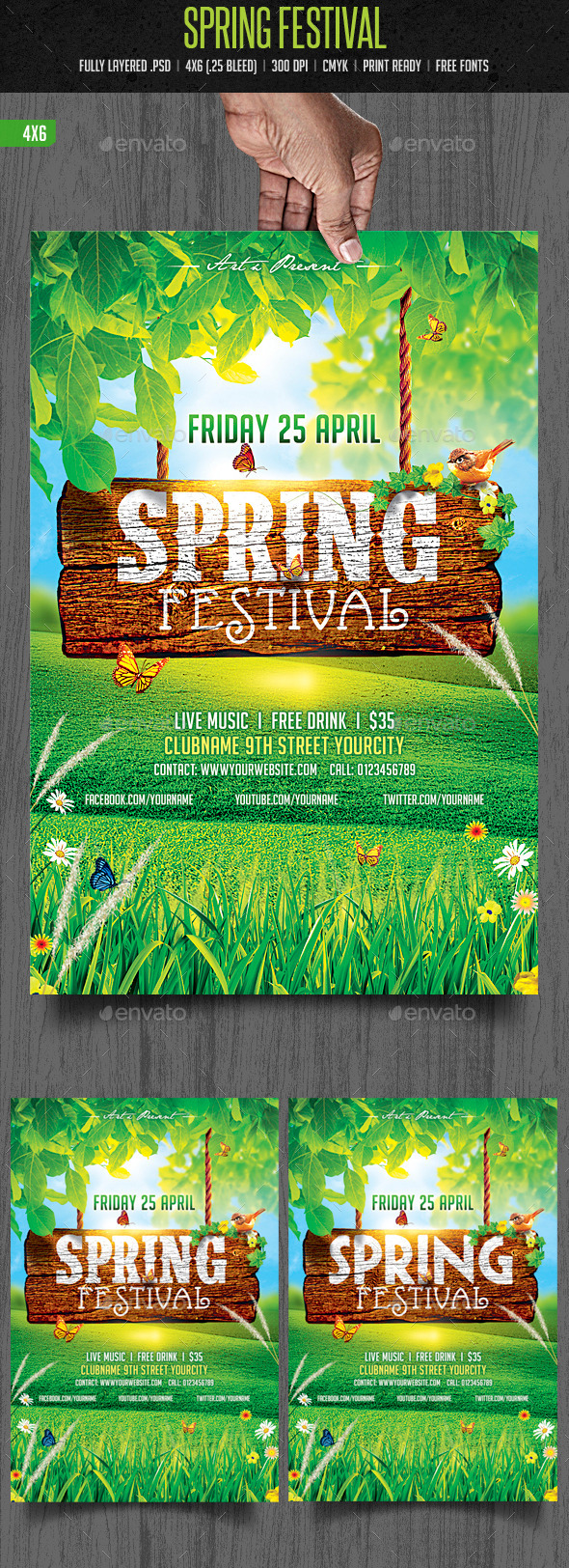GraphicRiver Spring Festival 10412588
