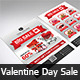 A4 Valentine Day Sale Flyer - GraphicRiver Item for Sale
