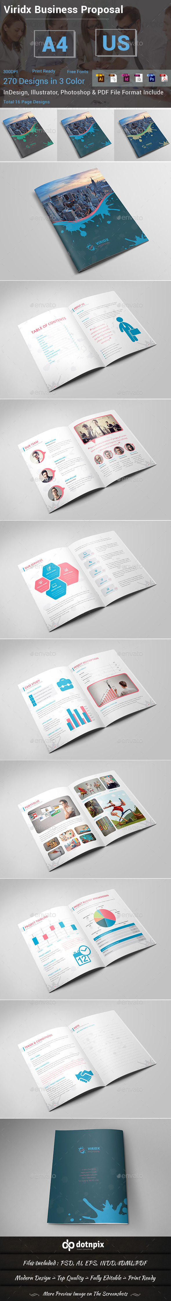 GraphicRiver Viridx Business Proposal 10412771
