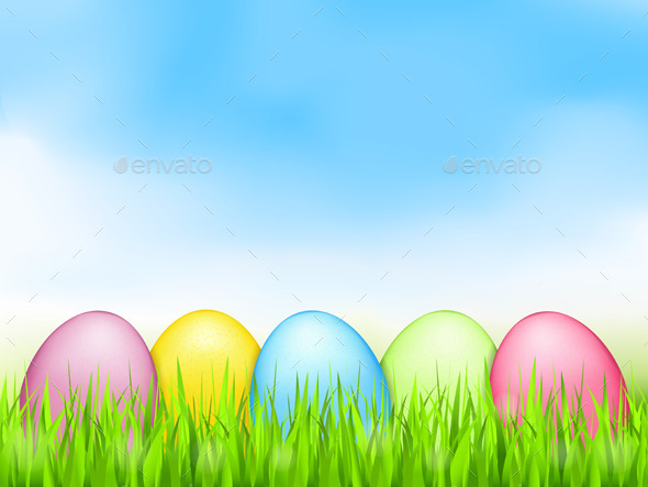 GraphicRiver Easter Eggs 10412885