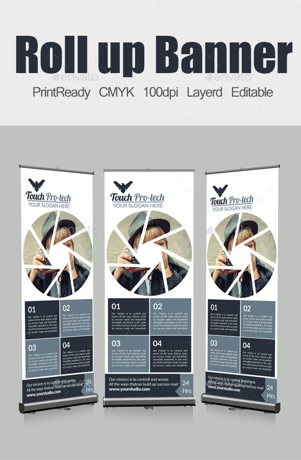 GraphicRiver Roll Up Business Banners 10412963