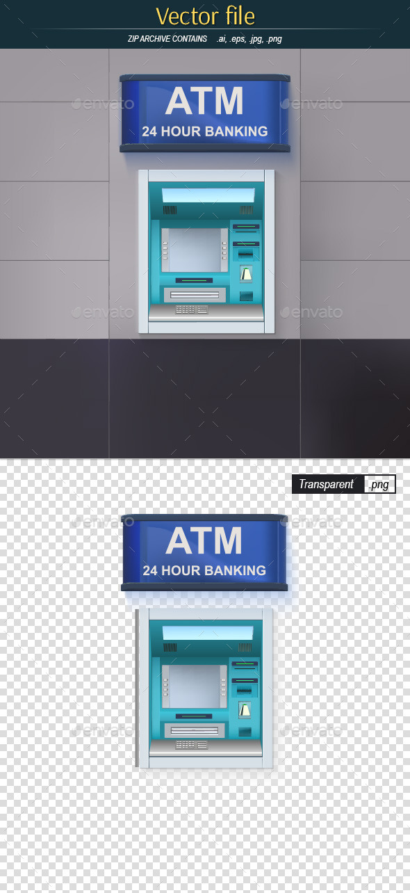 GraphicRiver ATM with Lightbox 10413018