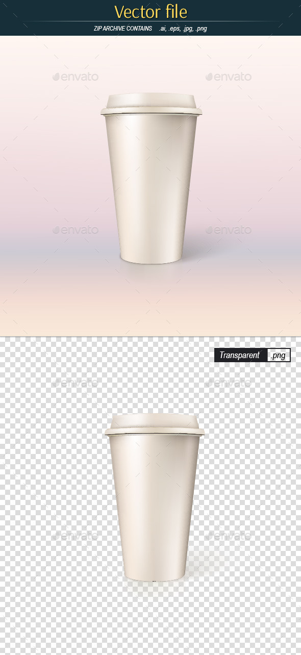 GraphicRiver Paper Cup for Coffee 10413031