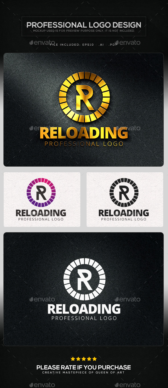 GraphicRiver Reloading Logo Template 10413178