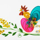 quilling on a holiday theme Happy Easter - PhotoDune Item for Sale