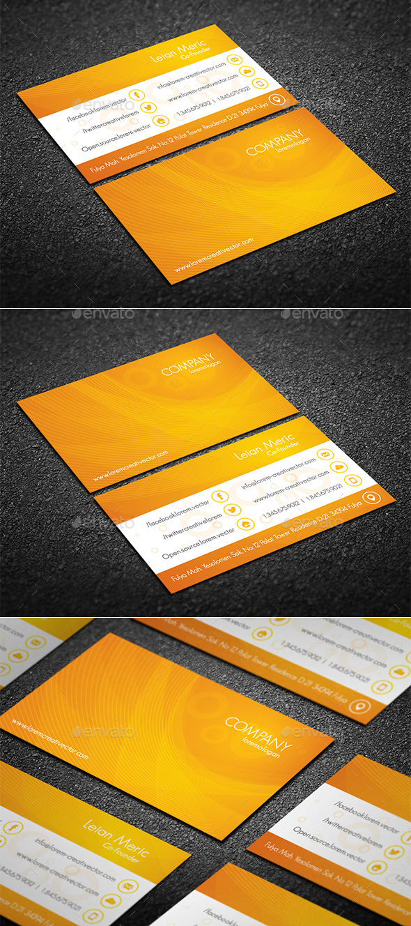 GraphicRiver Creative Business Card 10413409