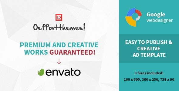 CodeCanyon Business HTML 5 Animated Google Banner 10413465