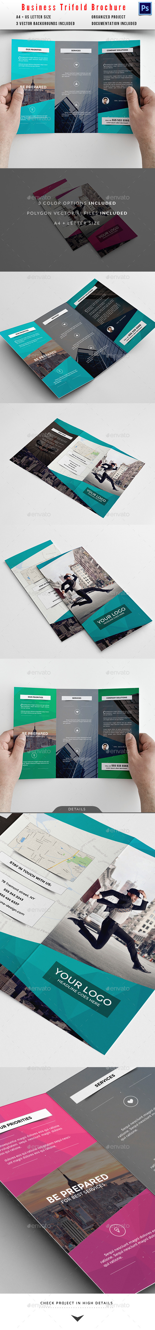 GraphicRiver Business Trifold Brochure 10413512
